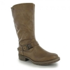Mustang 1168-606-333 Womens Warm Lined Mid Calf Boot - Light Brown