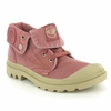 Palladium Baggy Low Canvas Womens Boots Fuchsia Pink