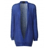 Knitted Oversized Cardigan Royal Blue