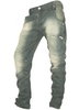 883 Police Mens Twisted fit Jeans Aivali Grey Green