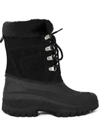 Shoes  - Snow Boots Ladies Black LSC01 Eyelet Boots