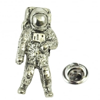 Special Occasions|Tiepins  - Astronaut Pewter Lapel Pin Badge