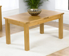 Tables Aztec Oak Small Extending Dining Table extending table only