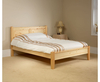 Beds Coniston Pine Low Footend Bed small double size - 4ft natural finish