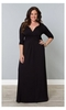 Desert Rain Maxi Dress in Black Noir