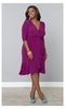 Whimsy Wrap Dress in Orchid