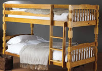 Beds  - Hyder Pegasus Pine Bunk Bed - Pegasus Frame Only