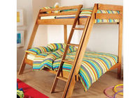 Beds  - Hyder Pine 3 Sleeper Bunk - Pine Frame Only