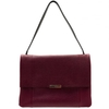 Ted Baker Womens Purple Proter Unlined Soft Leather Shoulder Bag