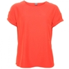 Y.A.S Womens Fiery Red Yasfranny Simple Tee Shirt