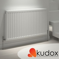 Kudox - Compact Double Panel Double Convector Radiator 400mm x 1000mm
