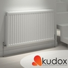 Kudox - Compact Double Panel Double Convector Radiator 400mm x 1200mm