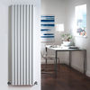 Milano Aruba - White Vertical Designer Radiator 1600mm x 472mm (Double Panel)