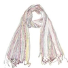 Clothing & Accessories Women's White Beautiful Multicoloured Scarf - Colourful scarves
