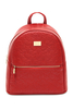 Boston Star Quilt Red Backpack