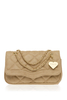 Paris Nouveau Camel Shoulder Bag