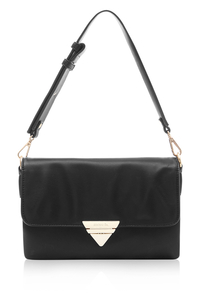 Tina Black Clutch Bag