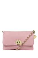Handbags  - Yaz Sorbet Pink Clutch Bag