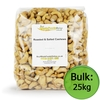 Cashew Nuts Whole,  Roasted & Salted 25kg Bulk