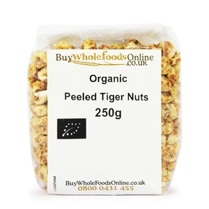 Organic Peeled Tiger Nuts 250g
