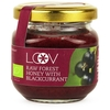 Food Raw Organic Forest Honey with Blackcurrant (Loov) 150g