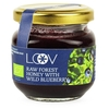 Food Raw Organic Forest Honey with Blueberry (Loov) 150g