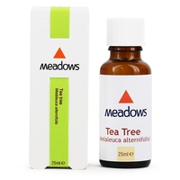Tee Tree Oil  - Tea Tree Essential Oil (Meadows Aroma) 25ml