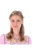 Traditional Costume|Blouse|Accessories  - Hairband headband flower HB-AH06 colorful