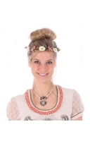 Traditional Costume|Blouse|Accessories  - Hairband headband flower HB-AH11 colorful