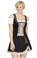 Clothing & Accessories  - Short traditional german skirt Kelly black