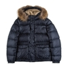 Children's|Children|Children's Boys Hooded Down Puffer Jacket - Navy