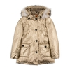 Children's|Children's|Low Shoes|Children's|Children's Girls Metallic Down Jacket - Gold