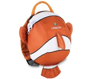 Cases & Bags  - Littlelife Animal Toddler Daysack - Clownfish