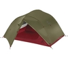MSR Mutha Hubba NX 3 Person Backpacking Tent (Green) (Green)