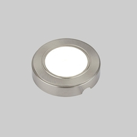 Lamps & Lights  - Biard Stainless Steel Round LED Under Cabinet Light SMD