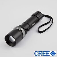Lamps & Lights  - Biard Ultra Bright LED Torch with Cree LED Adjustable Zoom 7 Watt 500LM
