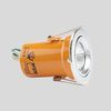 DaxLite Fire Rated 240V GU10 Downlighter With Easy Twistlock Chrome