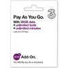 3 PAYG 4G Trio Data SIM Pack with 36GB Data - 30 Days