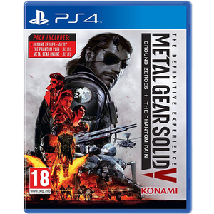 Sony PlayStation 4  - Metal Gear Solid V: The Definitive Experience (Sony PS4)