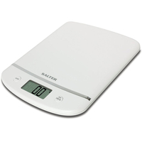 Household & Kitchen  - Salter Aquatronic Electronic Platform Scale - White