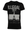 Blood Brother Illegal Tourist Black T-Shirt