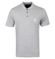 T-Shirts, Polos & Tops  - Creative Recreation Grey Marl Short Sleeve Polo Shirt