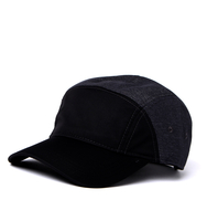 Headwear  - Lacoste Black & Grey Cadet Cap