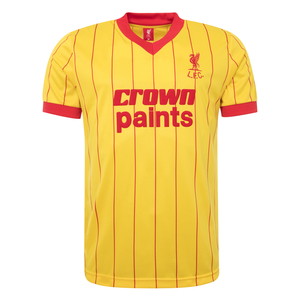 LFC 1982 Yellow Away Shirt