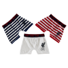 LFC Junior 3 Pack Boxers