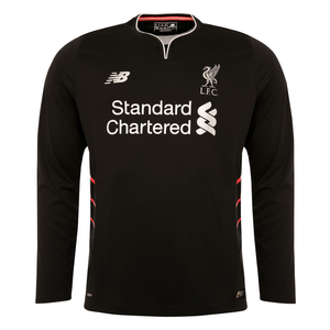 LFC Kids Long Sleeve Away Shirt 16/17