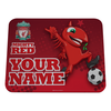 LFC Personalised Mighty Red Mousemat