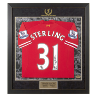 Football & Training|Liverpool  - LFC Signed Sterling Match Shirt | Norwich Home