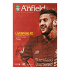 Signed Liverpool v Manchester City Programme
