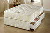 Divan Beds Royal 3ft Single Divan Bed With Extra Firm Super Orthopaedic Mattress